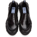 MCQ Black Orbyt Loafers