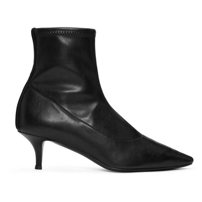 Photo: Giuseppe Zanotti Black Stretch Ankle Boots