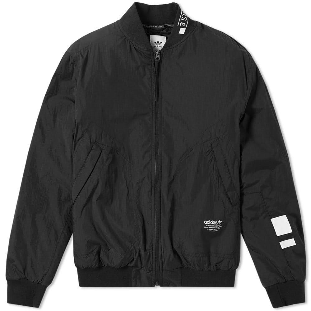 Adidas NMD Padded Bomber Jacket Black