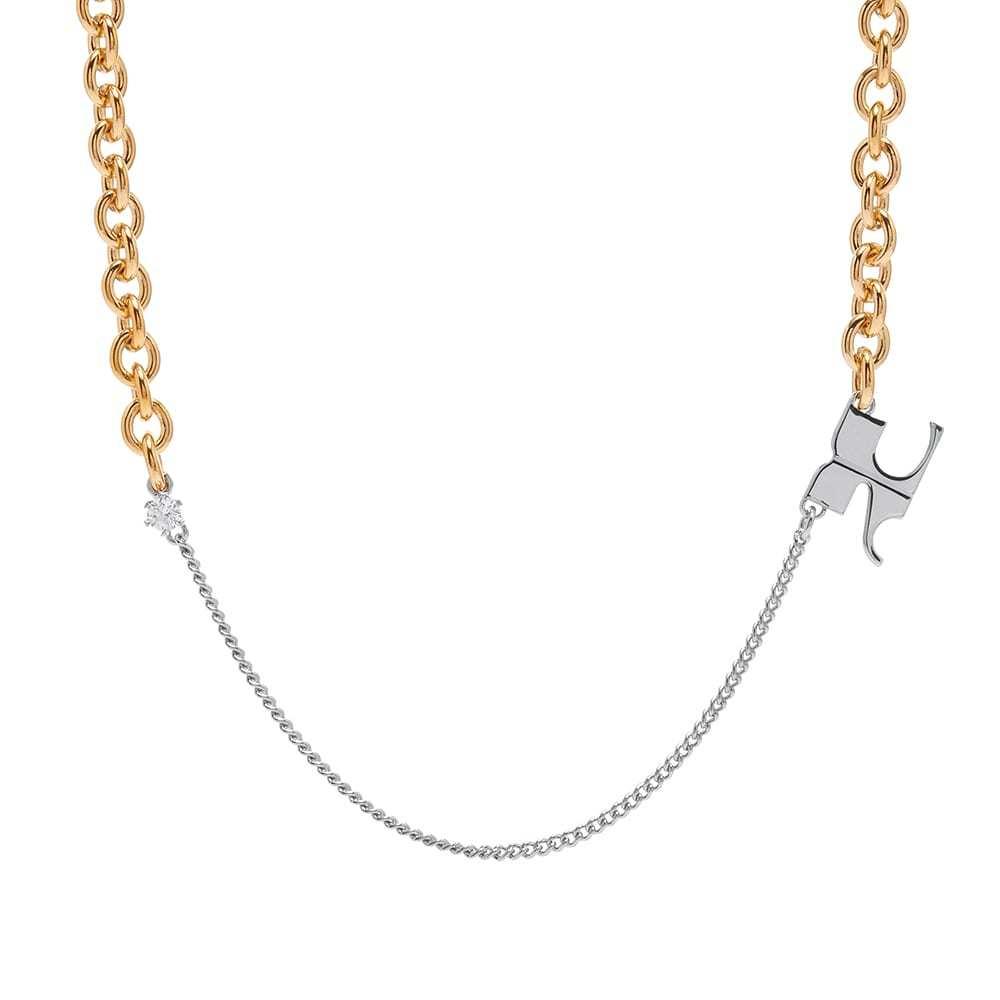 Photo: Courrèges Logo Chain Necklace