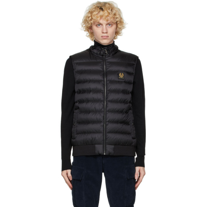 Photo: Belstaff Black Down Circuit Vest
