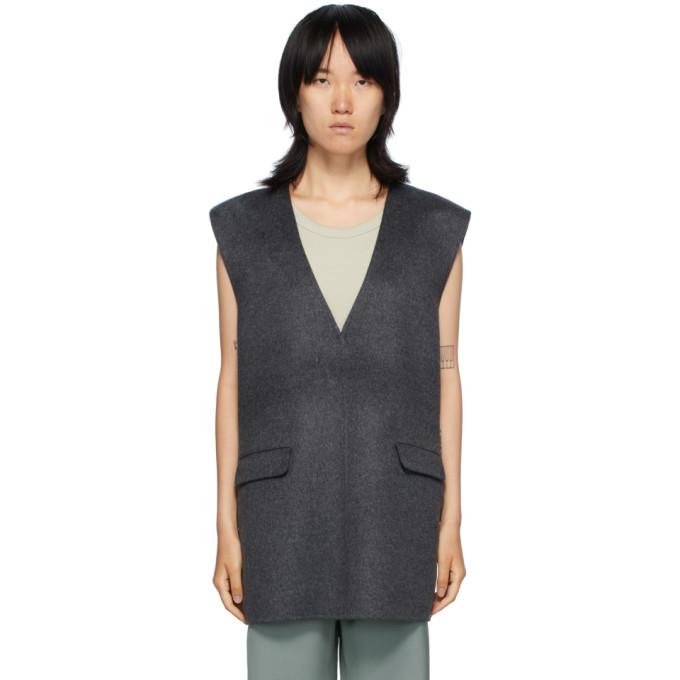Photo: Toteme Grey Alcoba Vest
