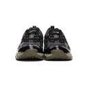 GmbH Black and Khaki Asics Edition GEL-NANDI 360 Sneakers