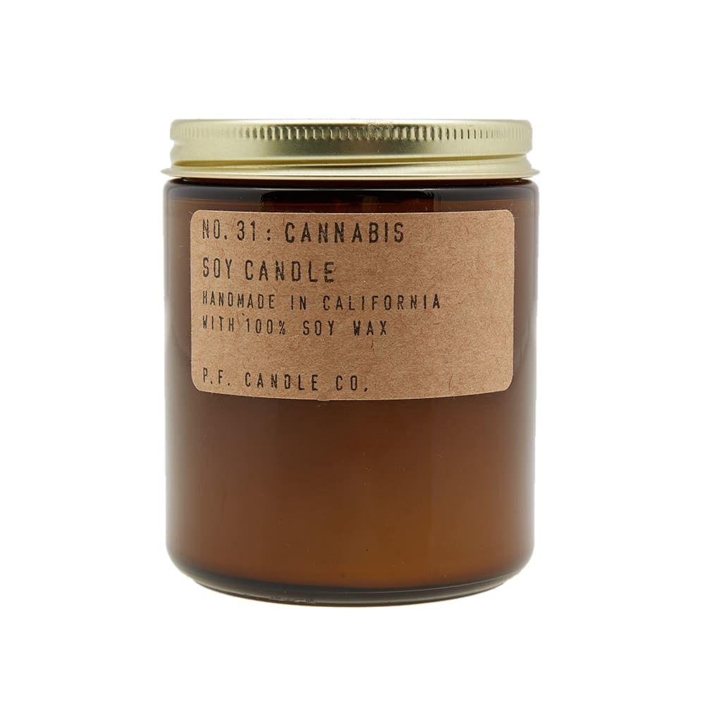 Photo: P.F. Candle Co No.31 Cannabis Soy Candle