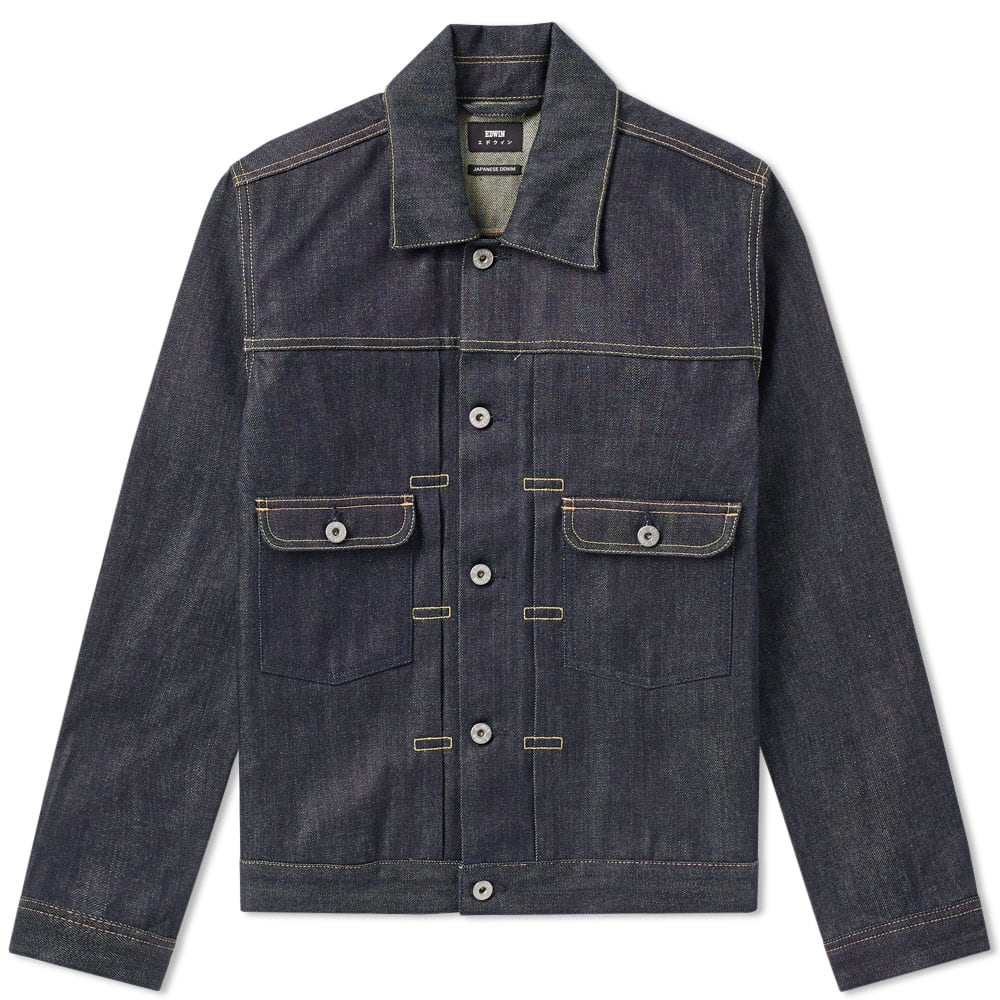 Photo: Edwin E-Classic Denim Jacket Blue