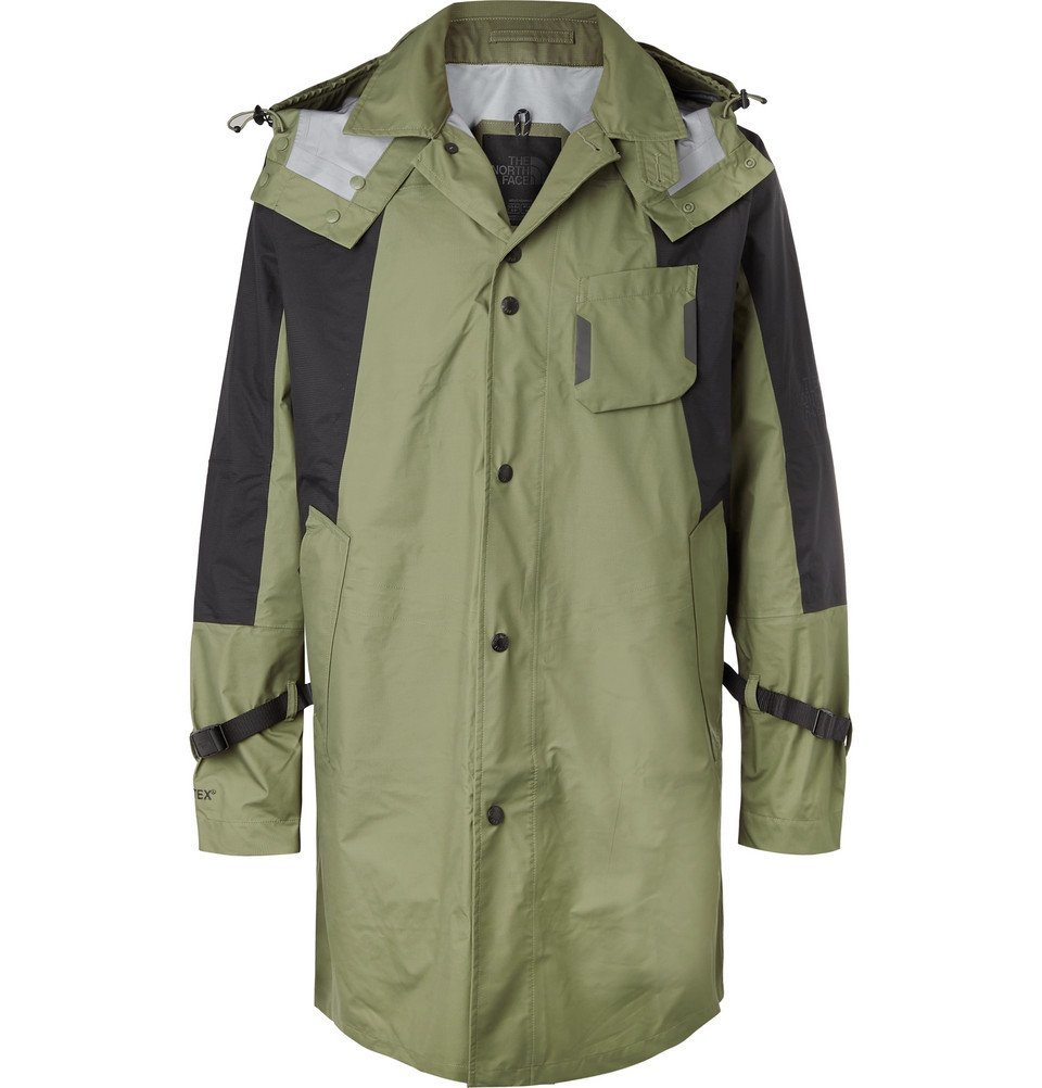 Photo: The North Face - Black Series KK Panelled Shell Hooded Jacket - Green