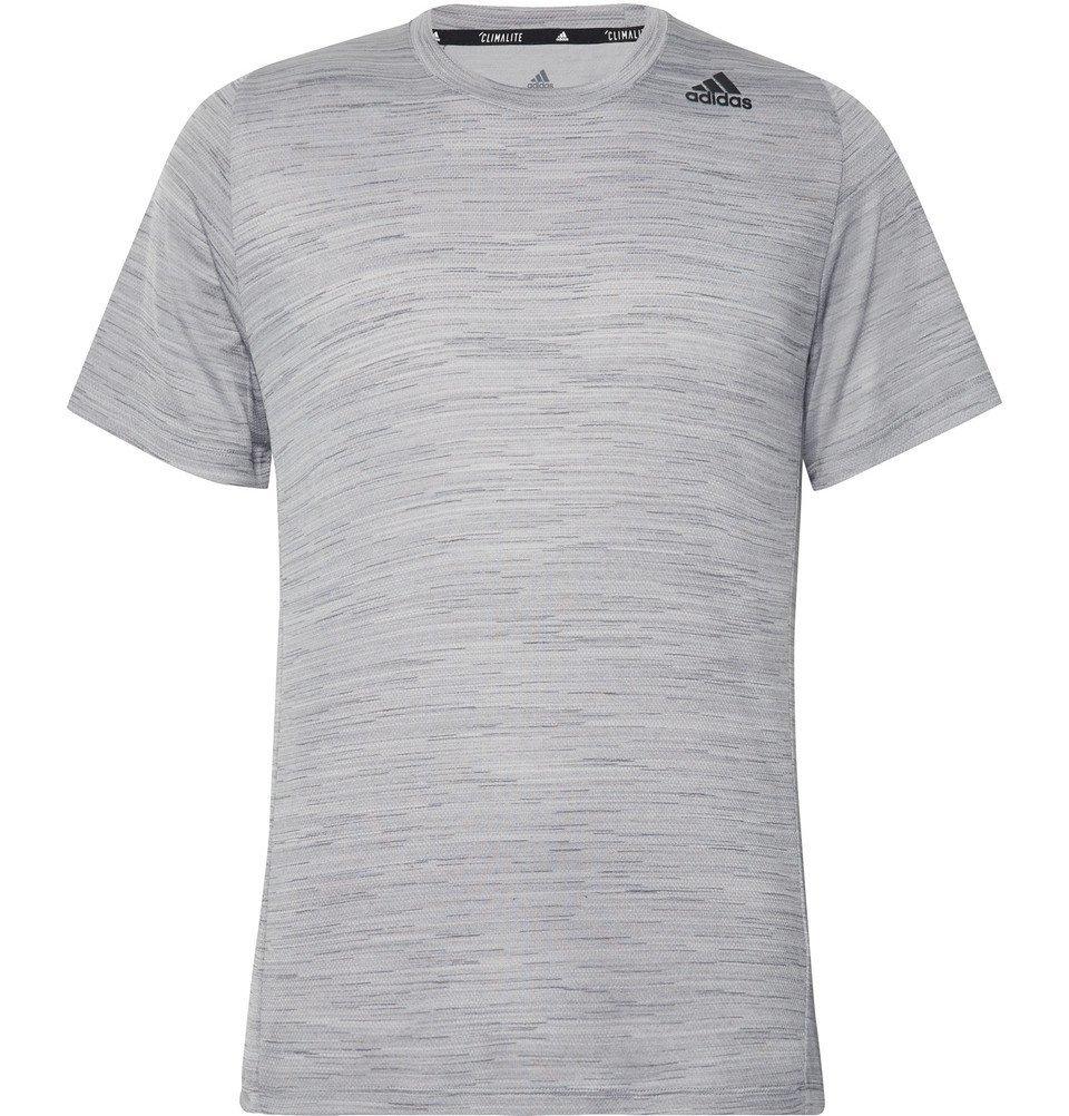 Photo: Adidas Sport - Ultimate Tech Mélange Climalite T-Shirt - Gray