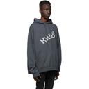 Ksubi Grey Kaos Hoodie