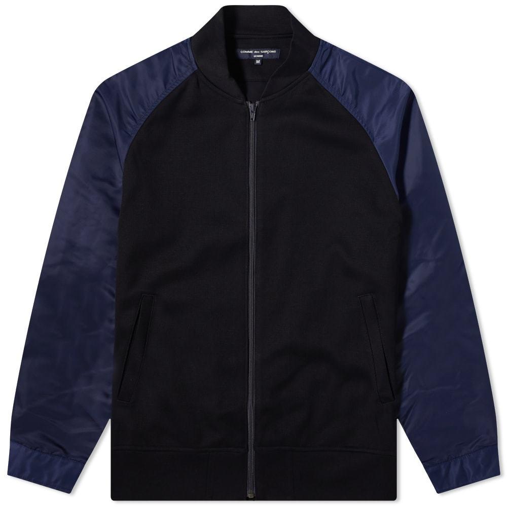 Photo: Comme Des Garcons Homme Nylon Sleeve Bomber Jacket
