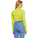 Nina Ricci Green Knit Turtleneck