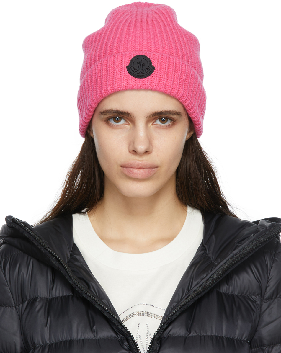 Photo: Moncler Pink Cashmere Beanie