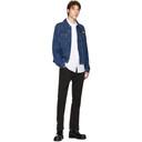 Raf Simons Blue Denim Slim Fit Jacket