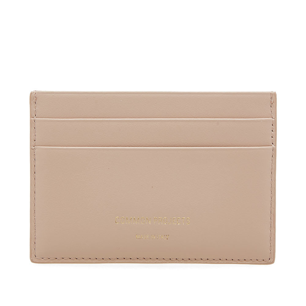 Photo: Common Projects Soft Leather Multi Card Holder