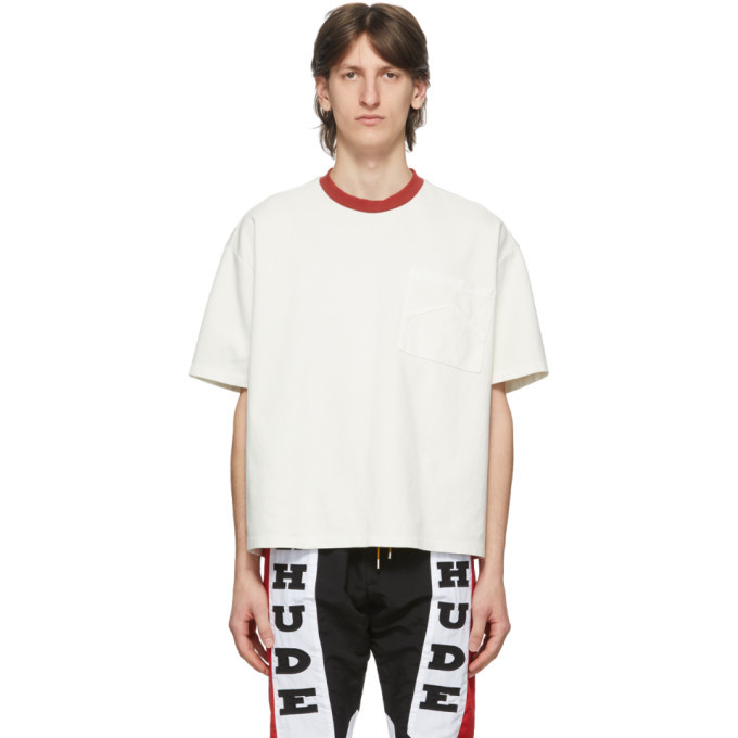 Photo: Rhude White and Red Box T-Shirt