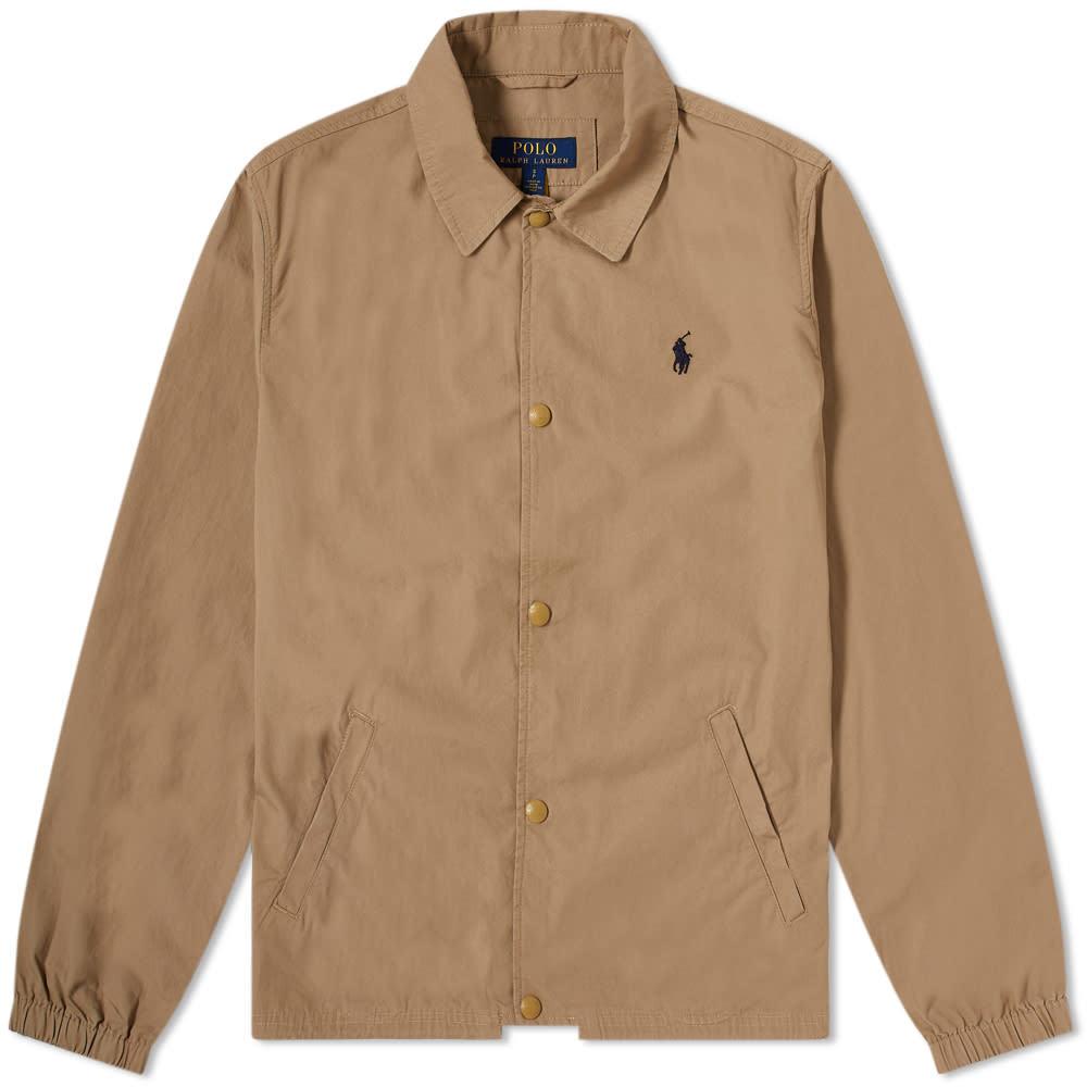 Photo: Polo Ralph Lauren Cotton Coach Jacket