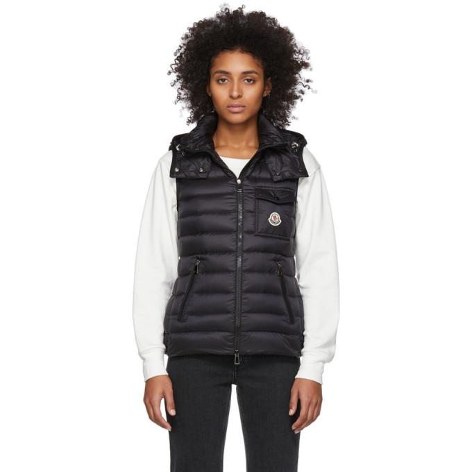 Photo: Moncler Black Down Glycine Vest