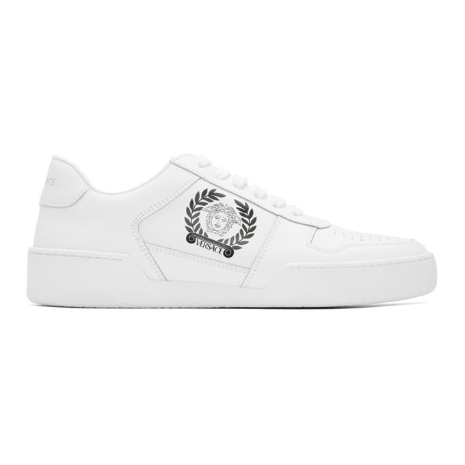 Versace White Medusa Sneakers