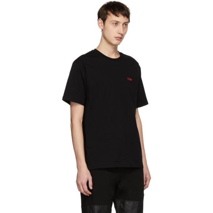 032c Black Embroidered Classic T-Shirt