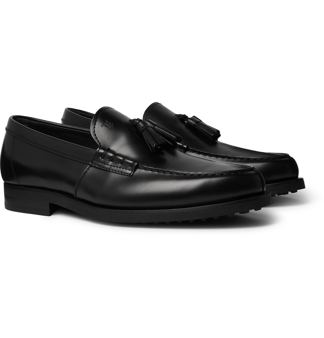 Photo: Tod's - Leather Tasselled Loafers - Black