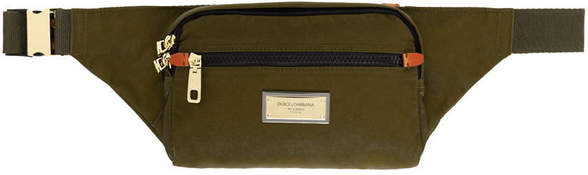 Photo: Dolce & Gabbana Green Sicilia DNA Belt Bag
