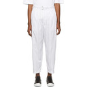 3.1 Phillip Lim White Relaxed Pleated Trousers