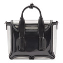 3.1 Phillip Lim Transparent Nano Pashli Satchel Bag