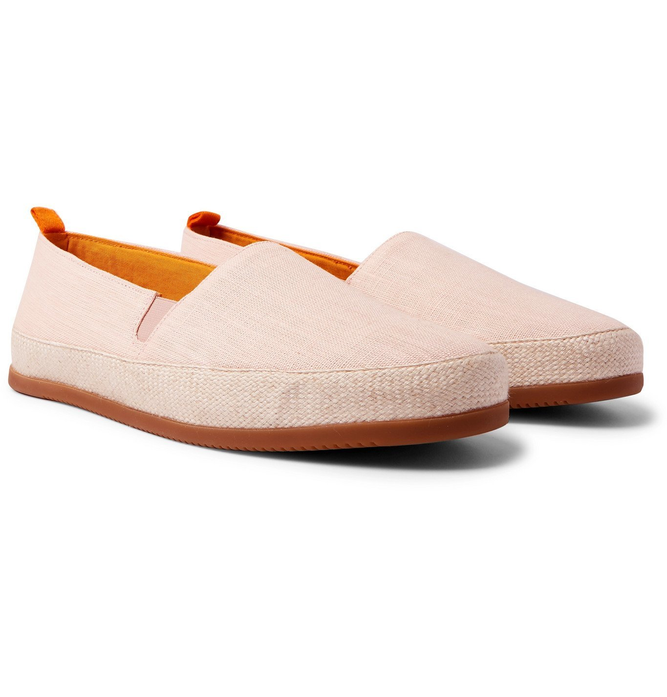 Photo: Mulo - Linen Espadrilles - Pink