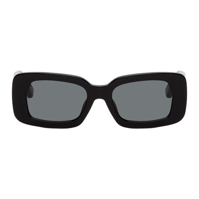 Photo: Dries Van Noten Black Linda Farrow Edition 137 C1 Sunglasses