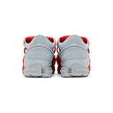 Raf Simons Red and Blue adidas Originals Edition Replicant Ozweego Sock Pack Sneakers