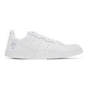 adidas Originals White Leather Supercourt Sneakers