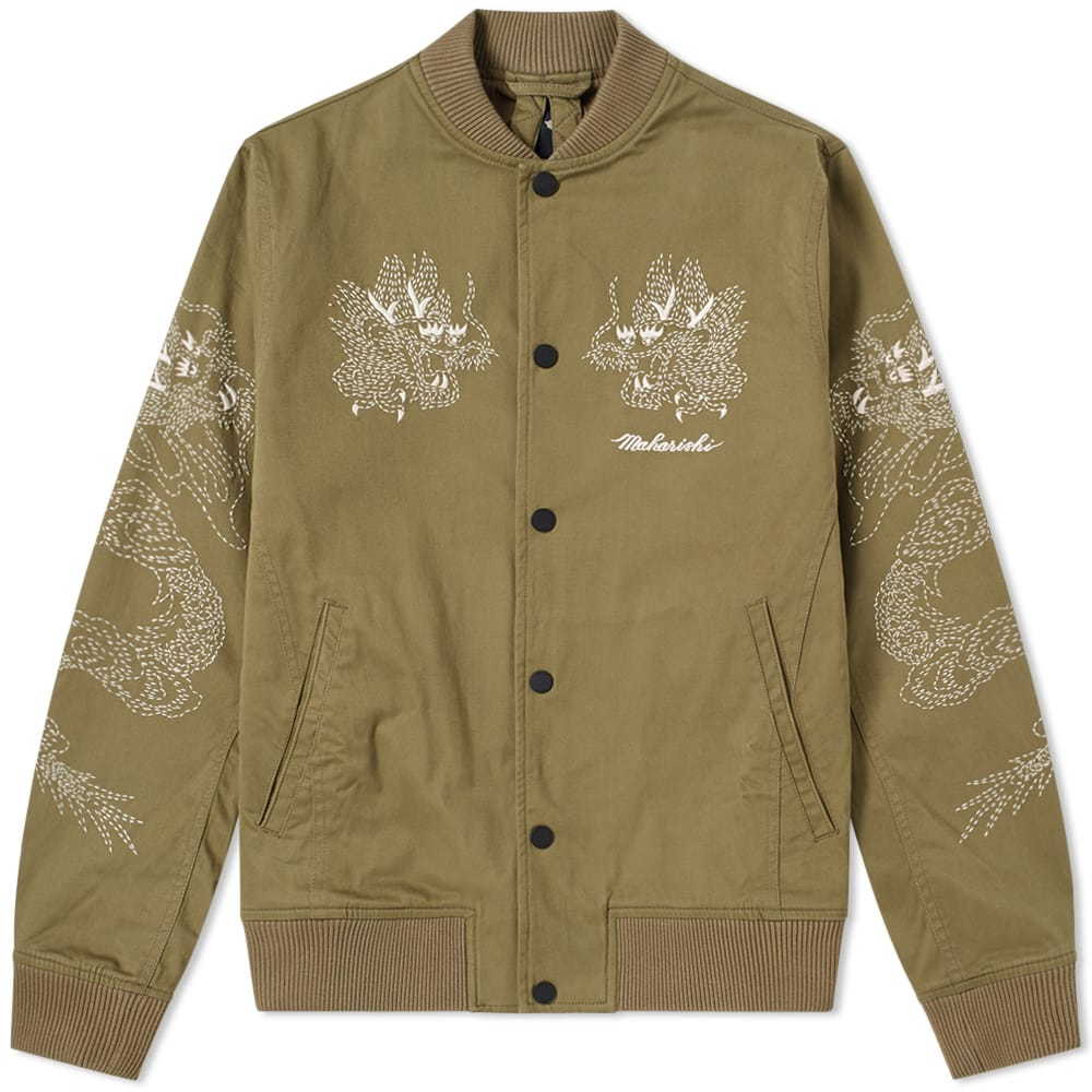 Photo: Maharishi Stencil Stadium Tour Jacket