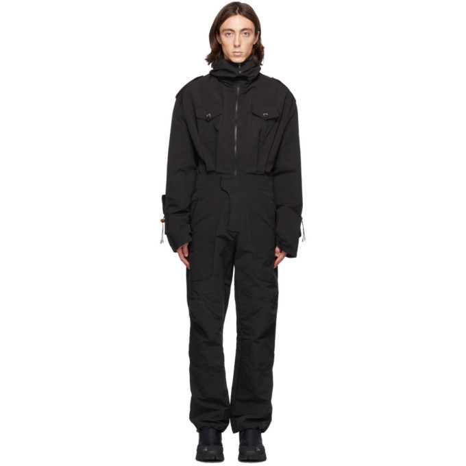 Photo: Boramy Viguier Black Safety Jumpsuit