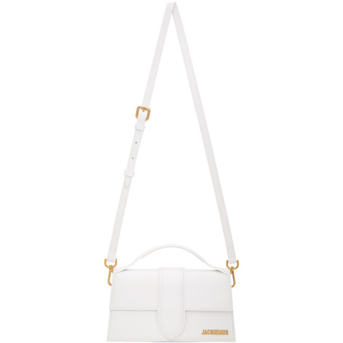 Photo: Jacquemus White Le Grand Bambino Top Handle Bag