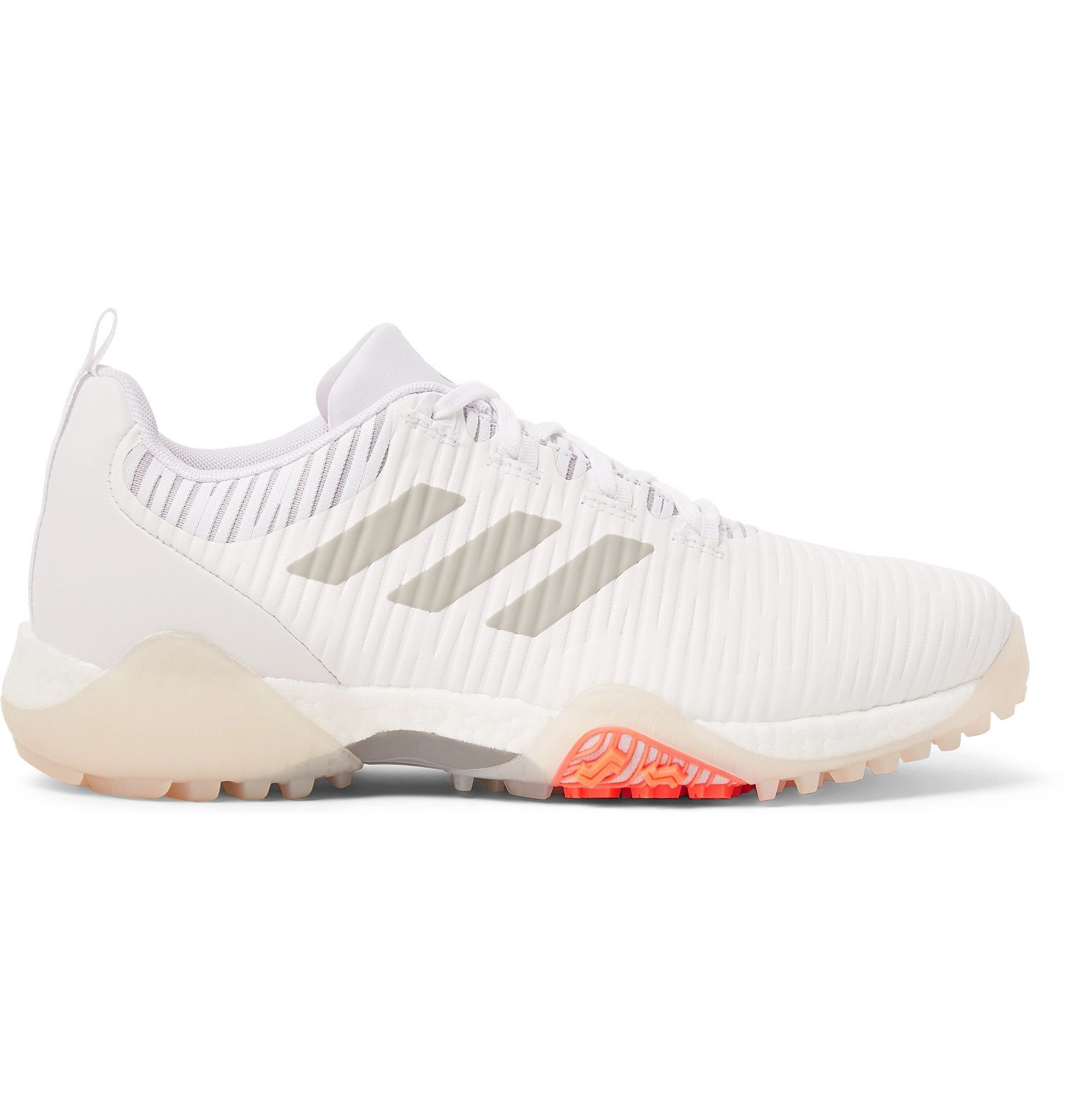 Photo: Adidas Golf - CodeChaos Faux Leather and Coated-Mesh Sneakers - White