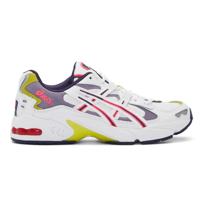 Asics White Gel-Kayano 5 OG Sneakers