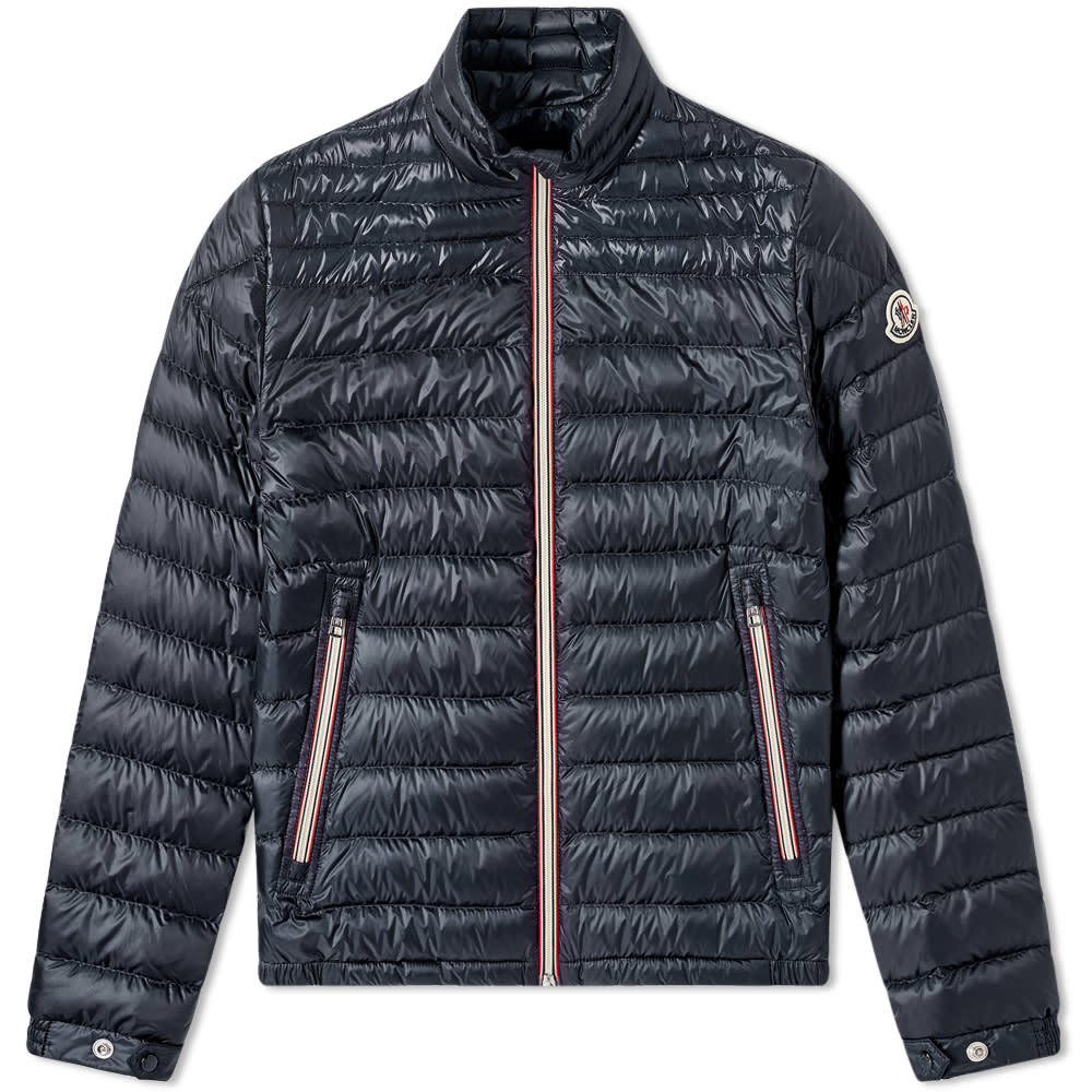 Photo: Moncler Daniel Tricolour Zip Down Jacket