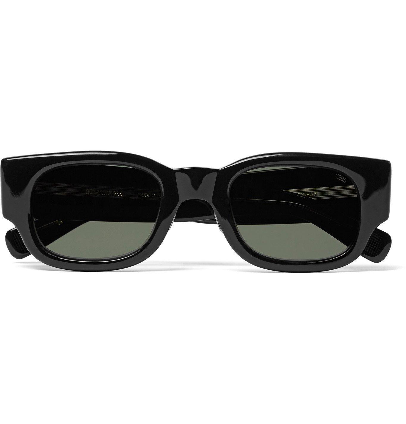 Photo: Eyevan 7285 - Square-Frame Acetate Sunglasses - Black