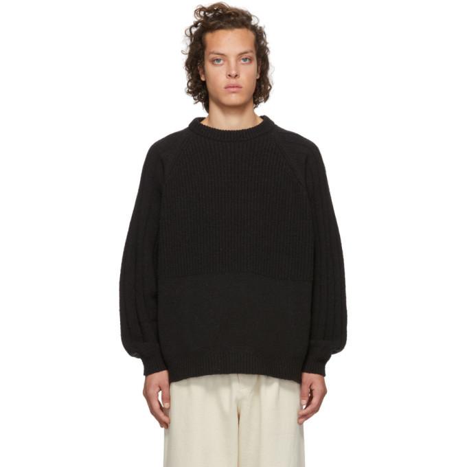 Photo: Kuro Black Change Overed Crewneck Sweater
