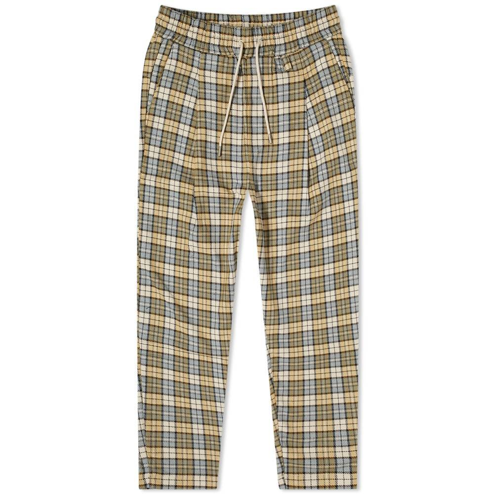 Photo: Drôle de Monsieur Check Cropped Pant