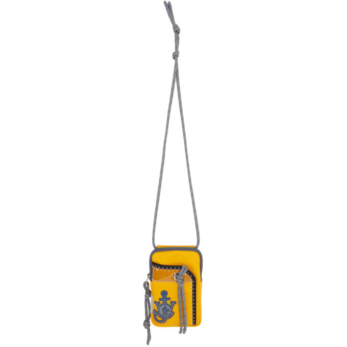 Photo: Moncler Genius 1 Moncler JW Anderson Yellow Phone Pouch