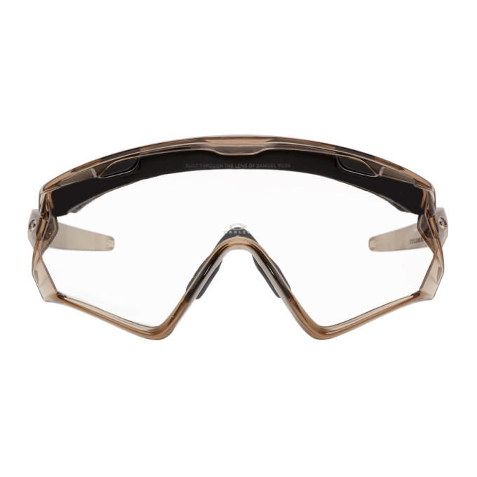 Photo: Oakley by Samuel Ross Transparent Windjacket 2.0 Glasses