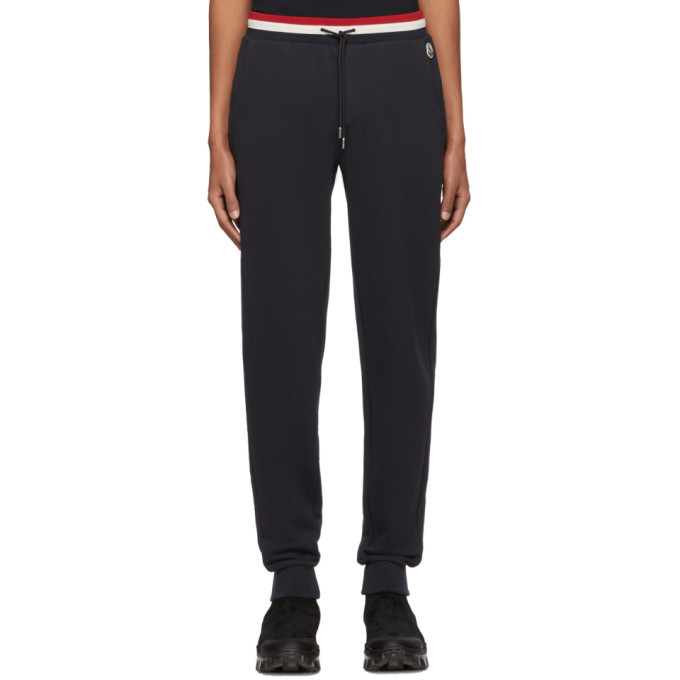 Photo: Moncler Navy Retro Lounge Pants