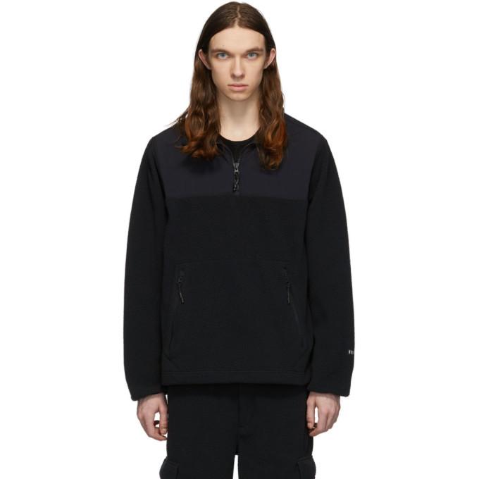 Photo: The Very Warm Black Fleece Zip Pullover