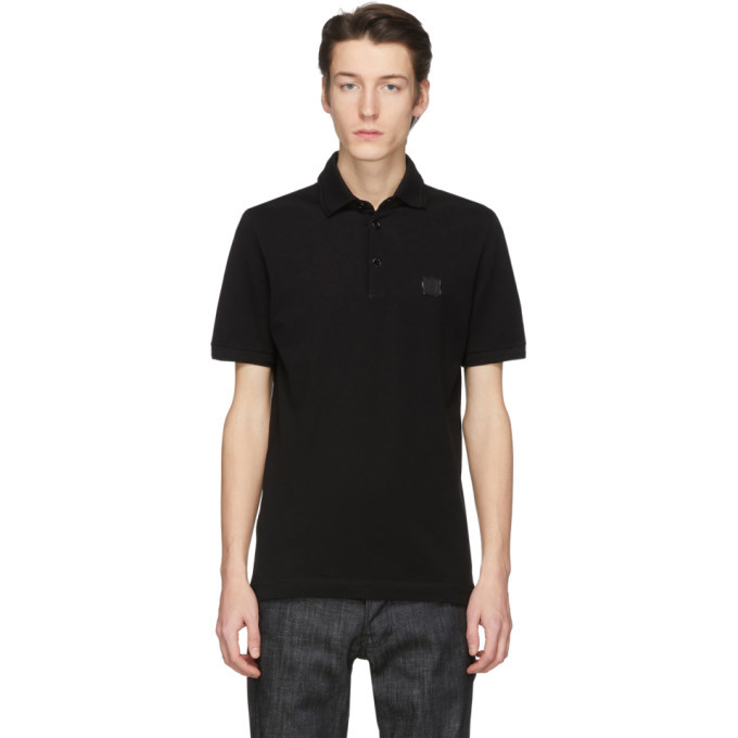 Photo: Dolce and Gabbana Black Stamp Polo