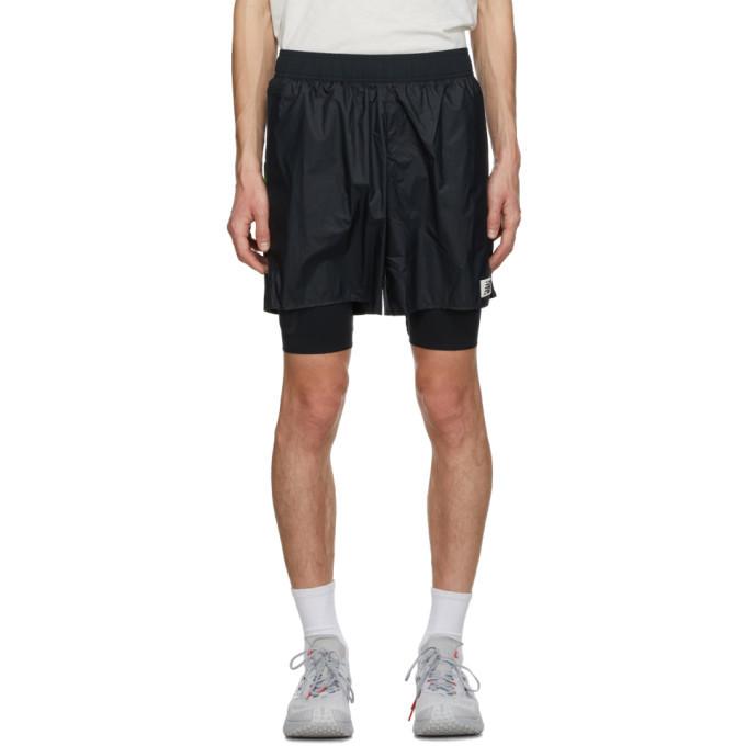 Photo: New Balance Black All Terrain Shorts