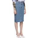 Acne Studios Blue Ilyssia Skirt
