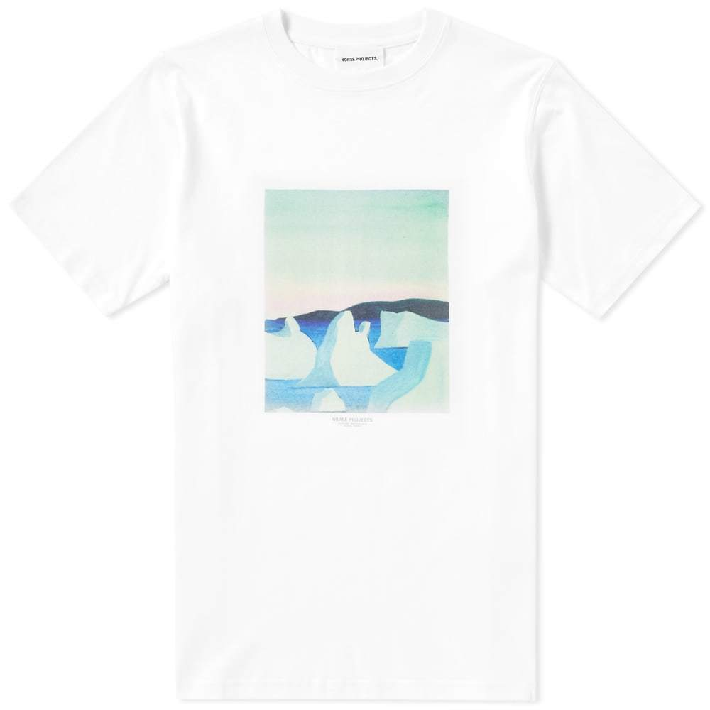 Photo: Norse Projects x Daniel Frost Icebergs Tee