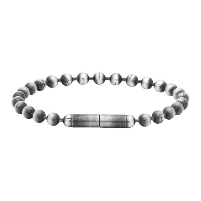 Photo: Ann Demeulemeester Silver Globule Bracelet