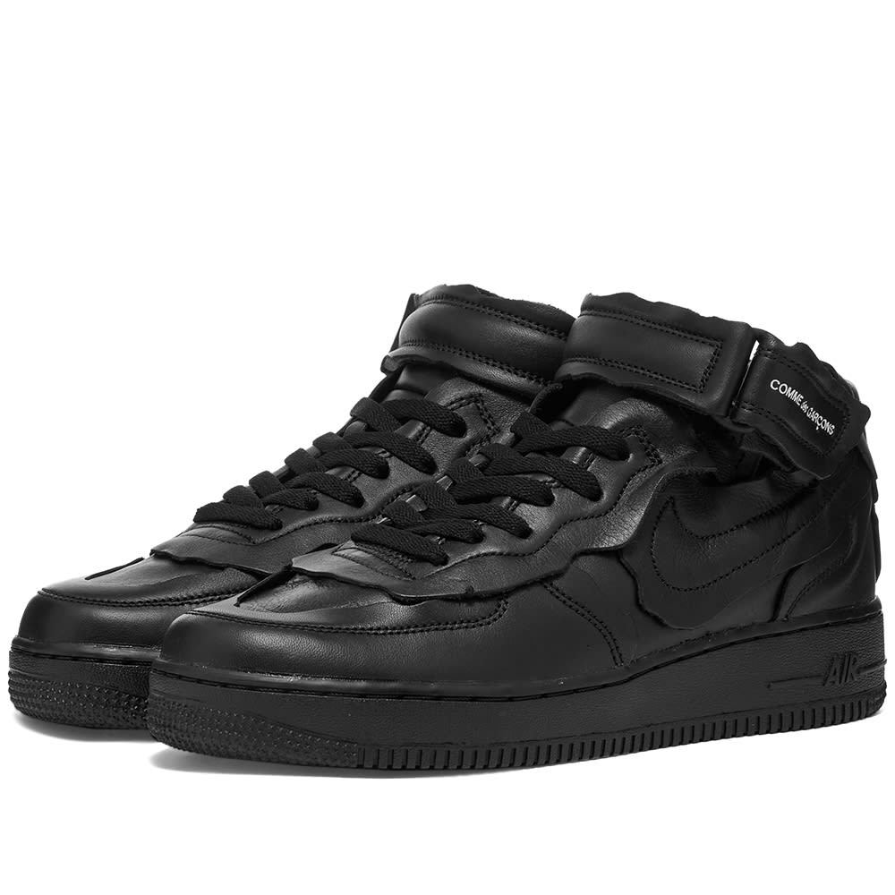 Photo: Comme des Garçons x Nike Cut Off Air Force 1 W