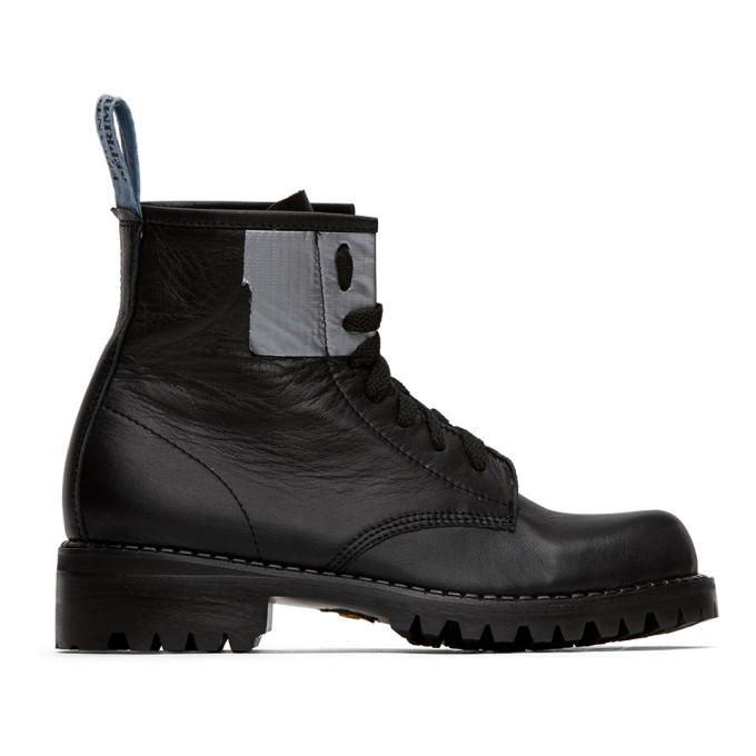 Photo: Enfants Riches Deprimes Black Adhesive Boots